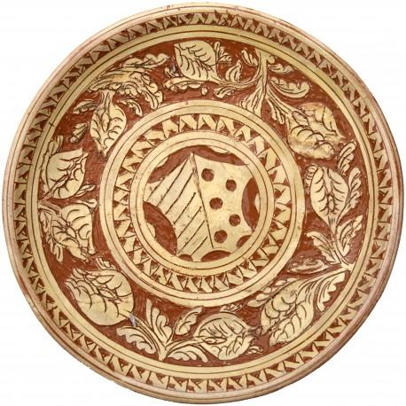 Copy of an ancient medieval dish - Hispanic Moorish