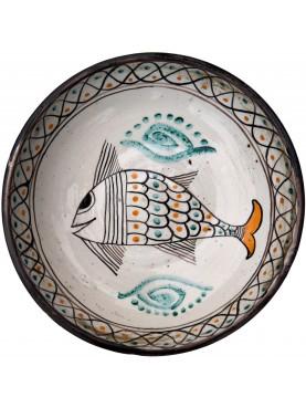 Bacini ceramici medioevali pisani - pesce