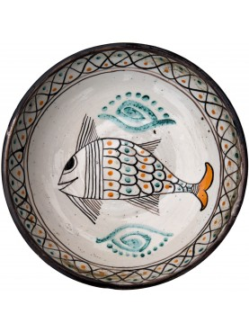 Copy of an ancient medieval Tuscan dish - fish