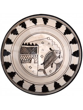 Copy of an ancient medieval Tuscan dish - fishing
