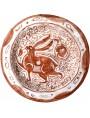 Bacini ceramici medioevali pisani - Ispano Moresco Medioevale - Lepre