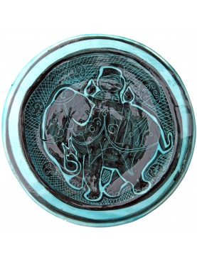 Copy of an ancient medieval dish - elephant