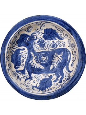 Copy of an ancient medieval dish - cow