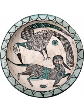 Bacini ceramici medioevali pisani - Mucca