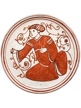 Medieval ceramic basins - Hispano Moorish dish copy