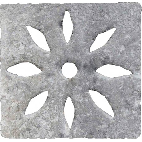 50x50cms Manhole cover with almond holes also for skimmer