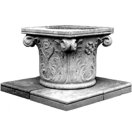 Venetian Sone Wellhead renaissance style