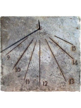 Ancient Sundial design from Pavia