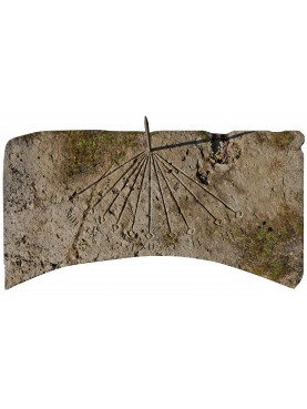 Stone sundial our production - hand made