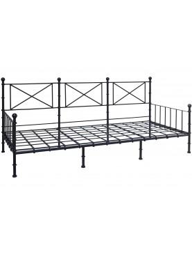 Large settee iron bench 220 X 90 cm