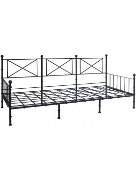 Large forged-iron sofa bed 220 X 90 cm
