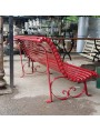 Forged Iron Bench 4 seats