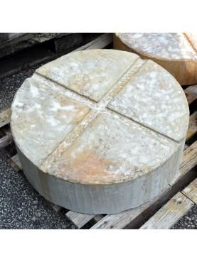 Base in pietra per vasi e conche Ø60 cm