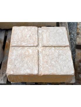 grande base per vasi toscani 50x50 cm