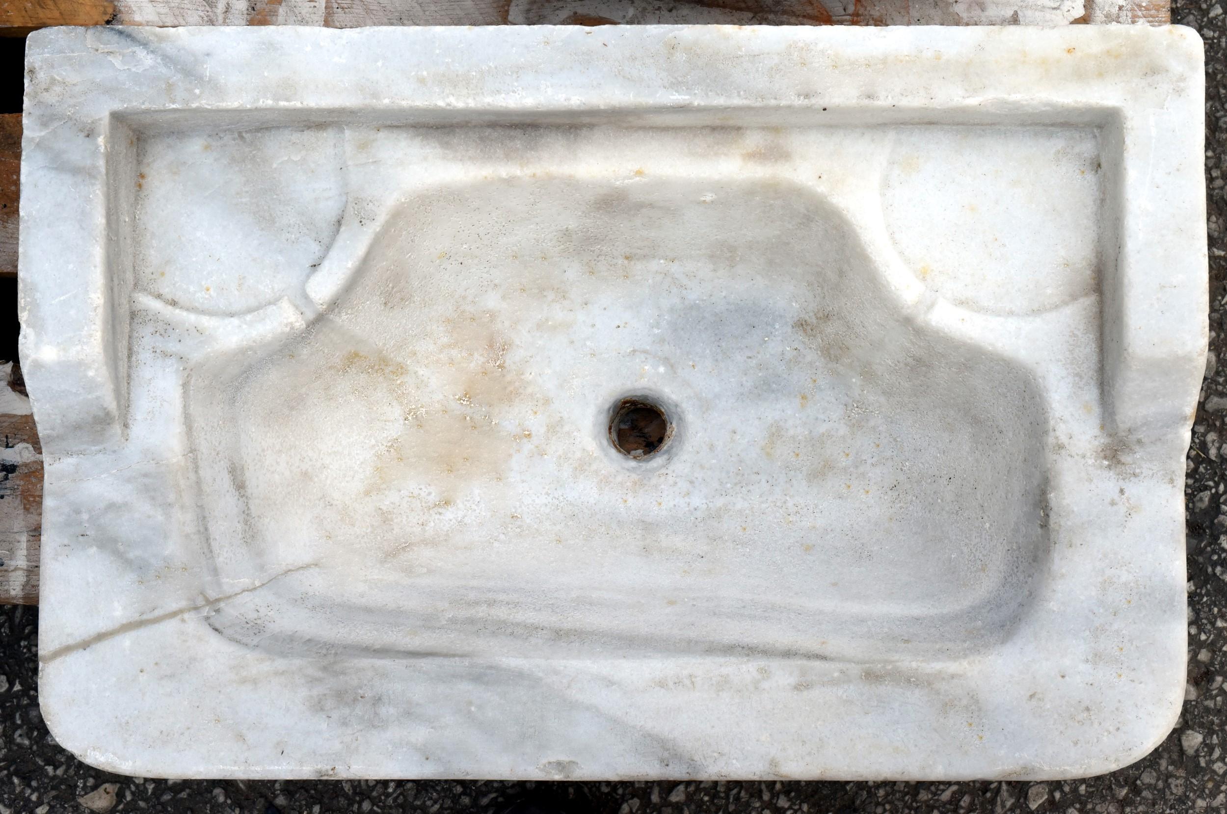 Mensole In Marmo Per Termosifoni antico originale lavandino in marmo - recuperando
