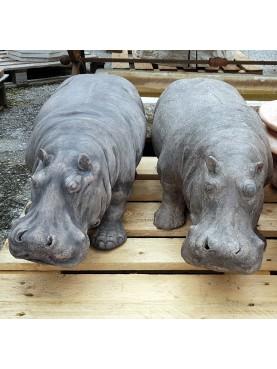 Terracotta hippopotamus