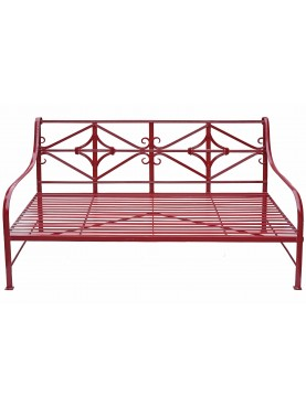 Garden Bench - wrought iron Divan