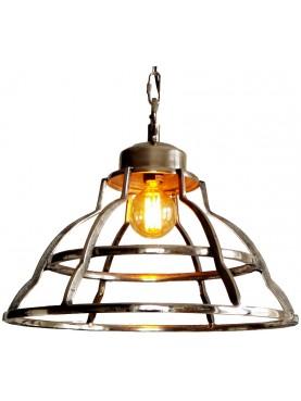 ceiling light brushed iron