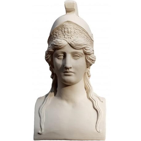 Our Athena in white terracotta