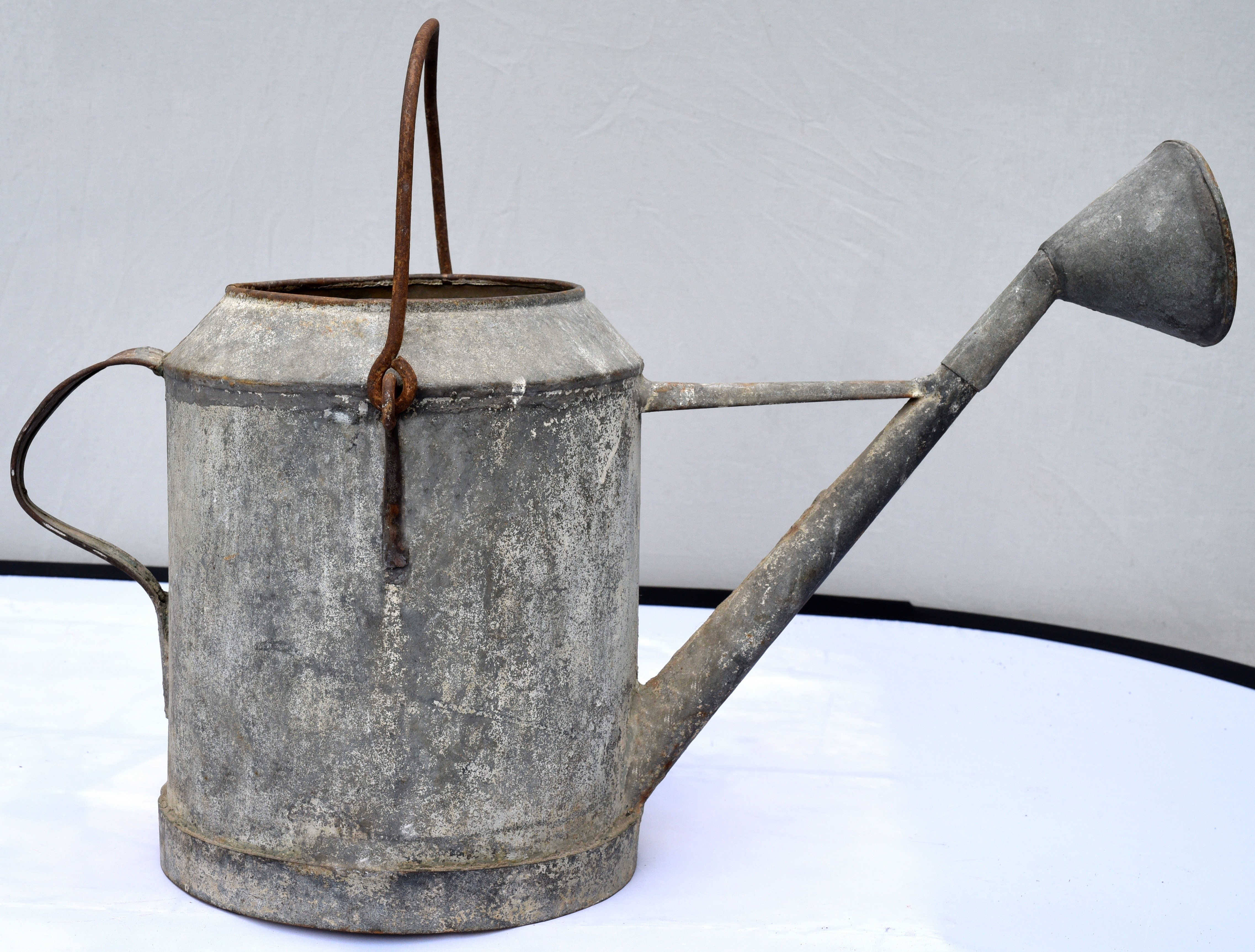 Old Garden Zinc Watering Can