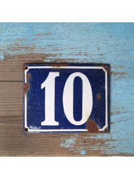 Vecchia Piastrella Numero Civico 13