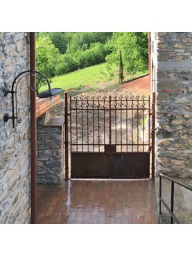 Wrought iron Garden Gate our production made in Italy