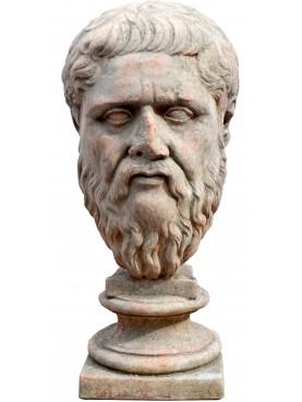 Testa di Platone in terracotta della Glyptothek di Monaco - copia