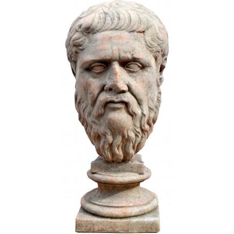 Plato terracotta head - Glyptothek Monaco - copy