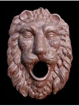 Cast iron lion Rogatin