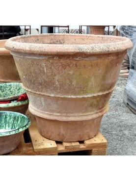 Conca Toscana antica in terracotta GELASIO LOTTI