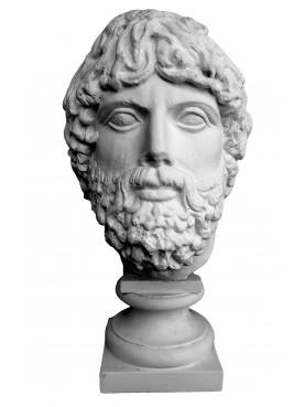 Divinità Barbata del museo archeologico di Bacoli
