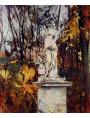 """Giovanni Boldini """"the statue in the park"""""""