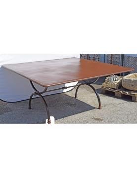 Tavolo a centine rettangolare 170 x 170 CM Porcinai
