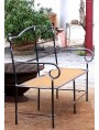 Settee iron bench with 2 seats - Small