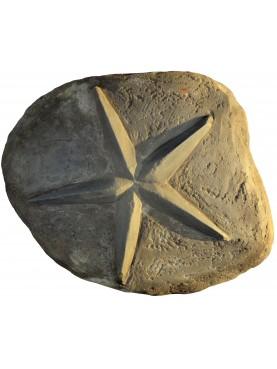 Pentacolo, stella a cinque punte in pietra