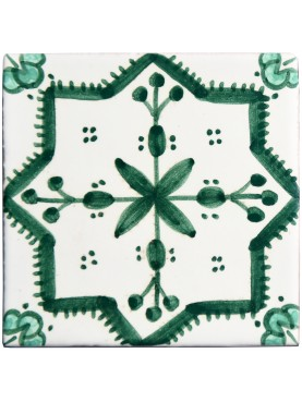 Majolica tile 10 x 10 cm our production