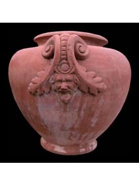 Dolium vase H.60cms