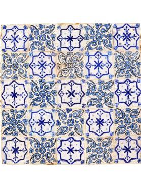 Piccolo tavolo con piastrelle marocchine, nostra produzione