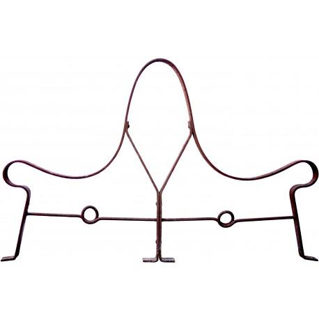 Profilo della gamba in ferro battuto