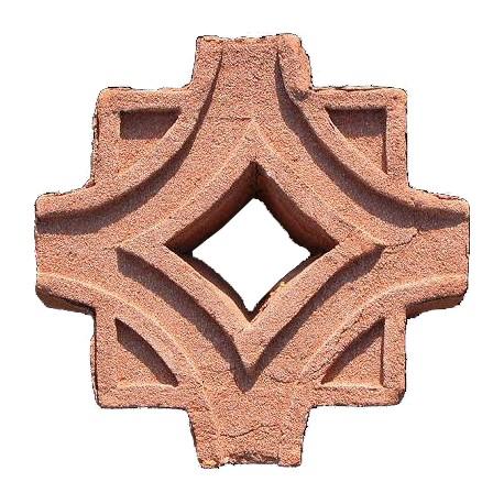 Gelosia Emiliana mattone fienile terracotta