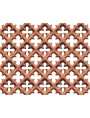 Frangisole Gelosia in terracotta per fienili