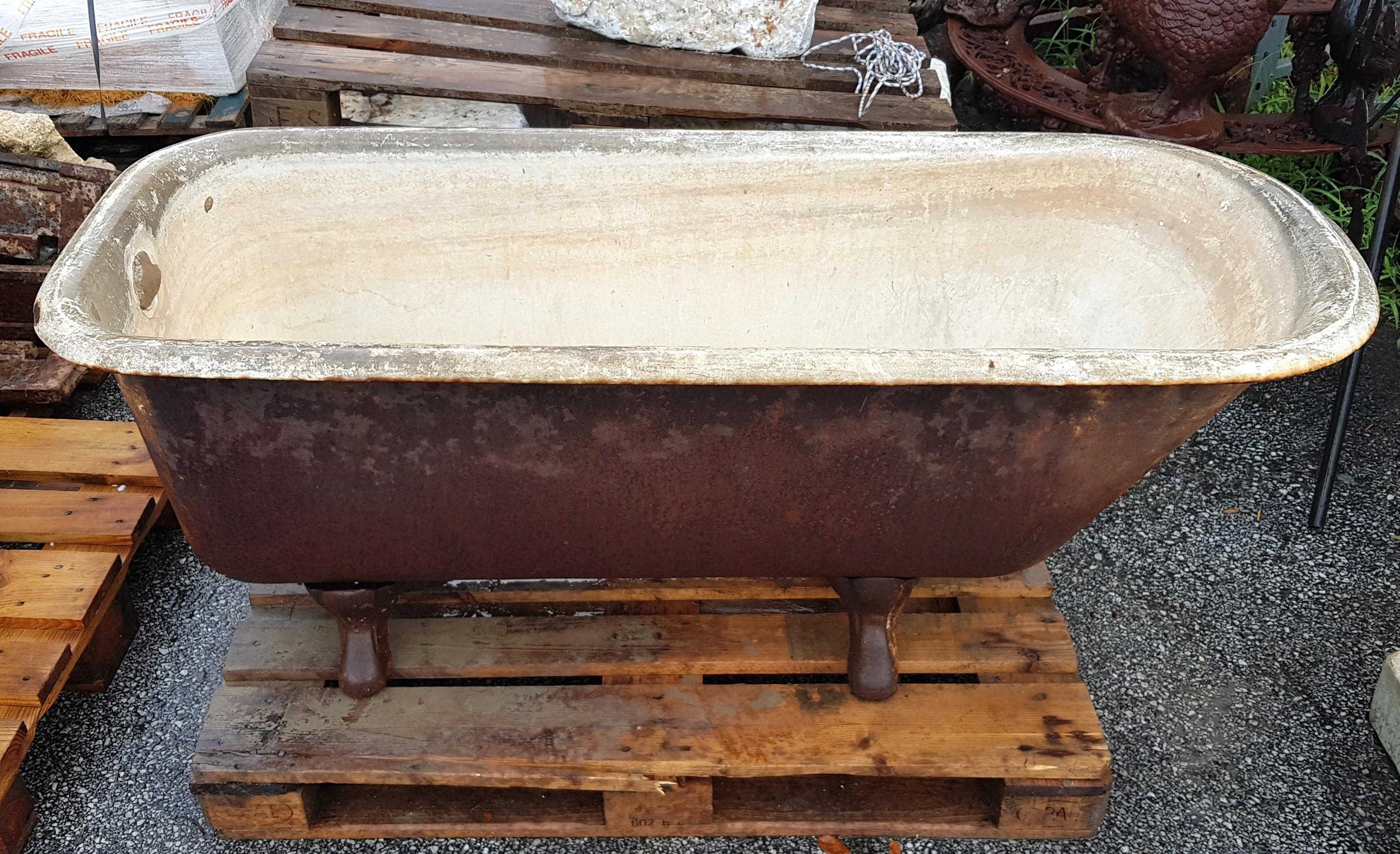 Vasche Da Bagno Antiche : Antica vasca da bagno in ghisa codice articolo prezzo
