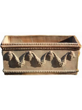 Festoon TERRACOTTA NEAPOLITAN boxes