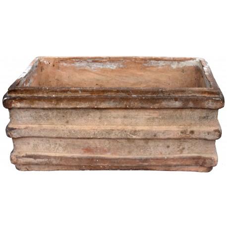 Ancient TERRACOTTA NEAPOLITAN box