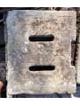 60x50cms ancient manhole - sandstone