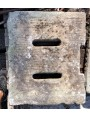 60x50cm Caditoie in pietra serena antiche ad alto spessore