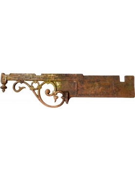 Ancient original Italian Iron brackets