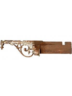 Ancient original Italian Iron brackets