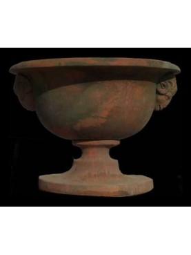 Vaso ovale con arieti