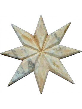 Marble Star for tarsia